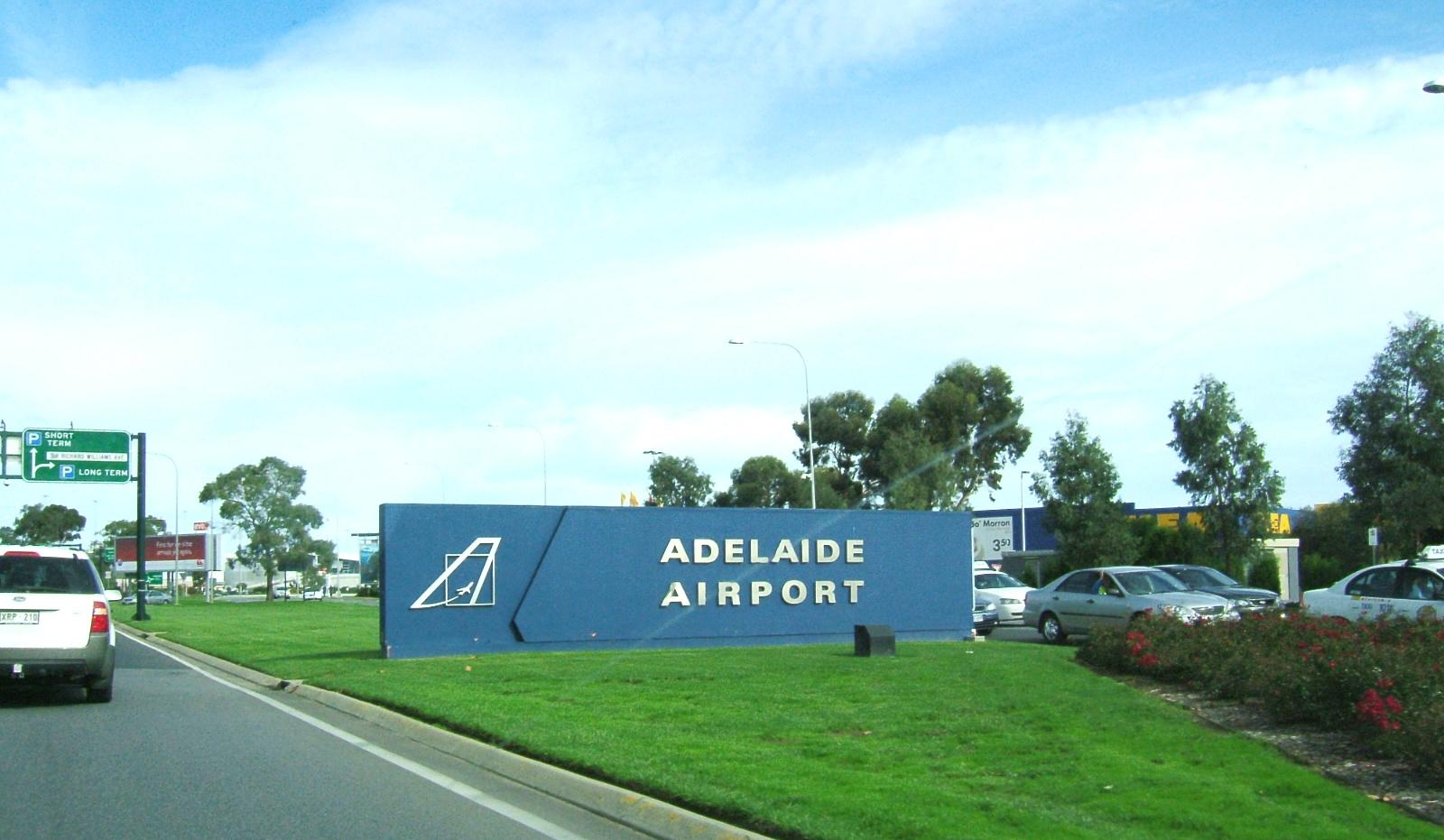 Adelaide Airport is the main international airport serving Adelaide and South Australia.